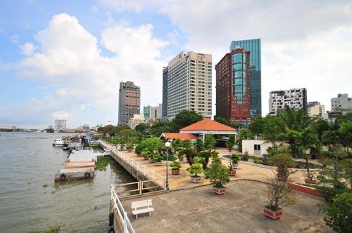 TP.HCM: Sẽ xây công trình ngầm ở bến Bạch Đằng? - 1