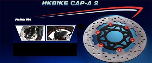 Khả năng chống nước vượt trội của mốt xe điện HKbike Cap-A 2 - 6