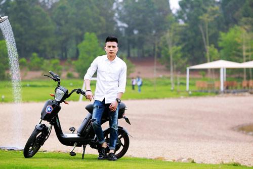 Khả năng chống nước vượt trội của mốt xe điện HKbike Cap-A 2 - 5