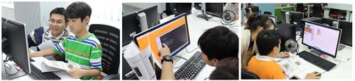 Trải nghiệm lập trình cho 72 em học sinh tiểu học tại Tp.HCM - 2