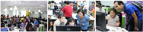 Trải nghiệm lập trình cho 72 em học sinh tiểu học tại Tp.HCM - 5