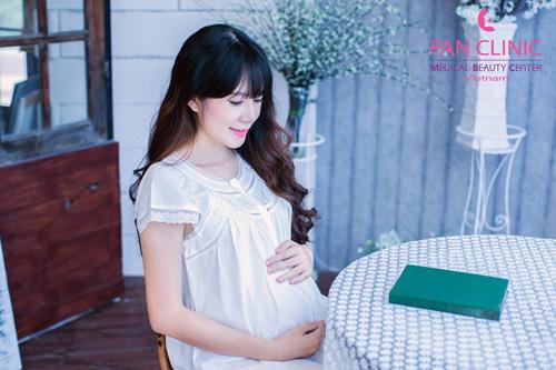 5 bí quyết khỏe đẹp của Minh Hà khi mang thai - 3
