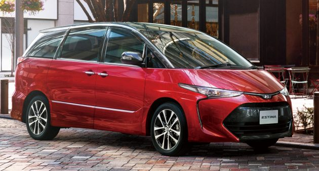 Toyota Estima nâng cấp 2016 chính thức lộ diện - 1