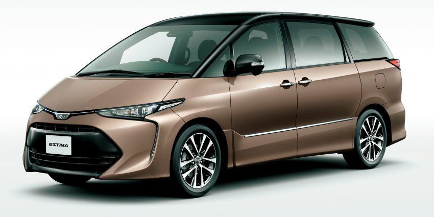Toyota Estima nâng cấp 2016 chính thức lộ diện - 5