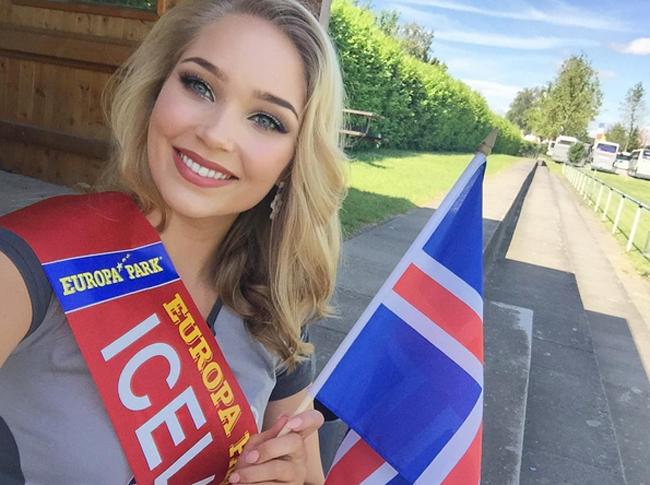 Vượt qua 23 mỹ nhân còn lại ở  VCK hoa hậu EURO 2016 , mỹ nhân đại diện cho Iceland, Arna Yr Jonsdottir giành vương miện Hoa hậu kỳ này.