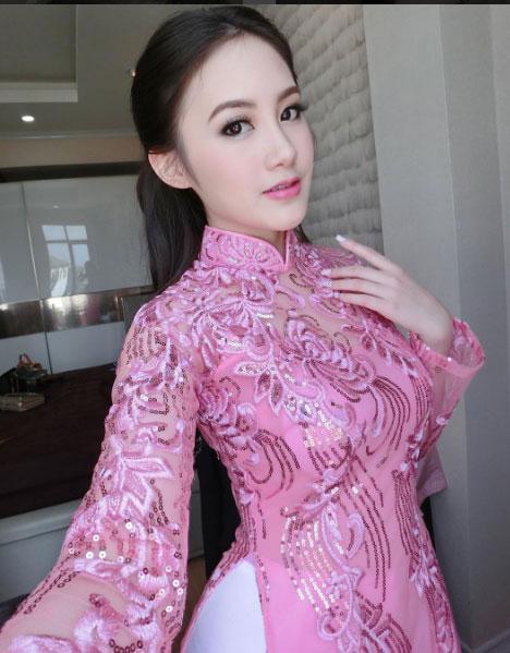 """""""Đệ nhất hot girl Lào"""" vừa sành điệu lại sexy - 2"""