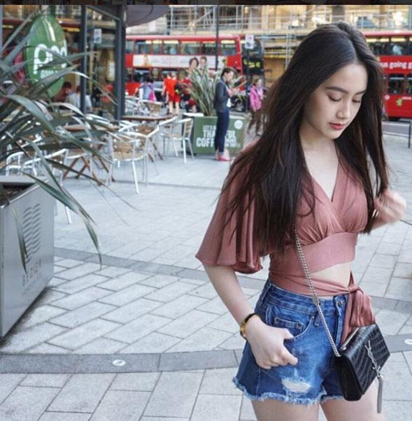 """""""Đệ nhất hot girl Lào"""" vừa sành điệu lại sexy - 10"""