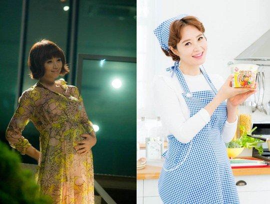 """""""Nữ hoàng gợi cảm"""" Kim Hye Soo có bầu trong phim mới - 1"""