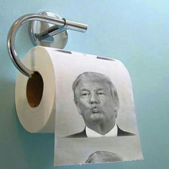 Giấy toilet in hình Donald Trump bán chạy không ngờ - 2