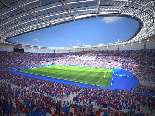 San van dong to chuc Euro 2016 - 1