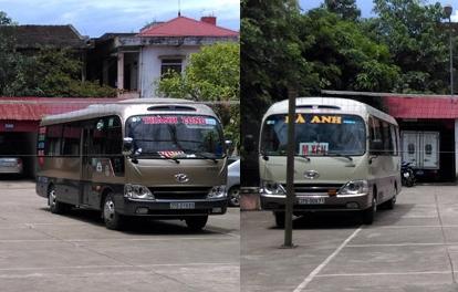 Nghệ An: Kinh hoàng 2 nhà xe truy sát nhau trên QL7 - 1