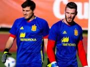 """Bóng đá - Tây Ban Nha: Nguy cơ """"nội chiến"""" vì De Gea, Casillas"""