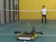 Thể thao - Đánh vợt cùng robot, bước đột phá của cầu lông