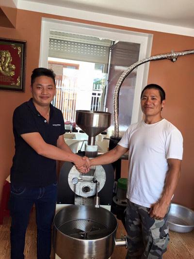 Rio Coffee: Công thức café sạch từ máy rang café - 3