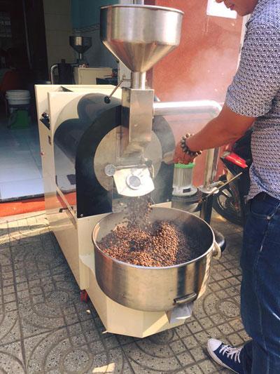 Rio Coffee: Công thức café sạch từ máy rang café - 6