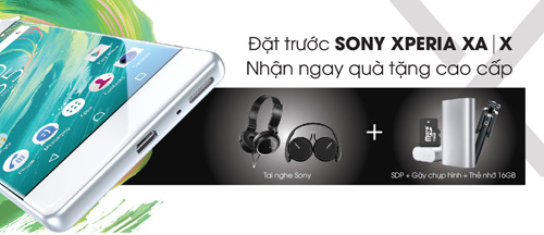 Nhận bộ quà tặng cực đỉnh khi tham gia đặt mua Sony X-series tại Viễn Thông A - 1