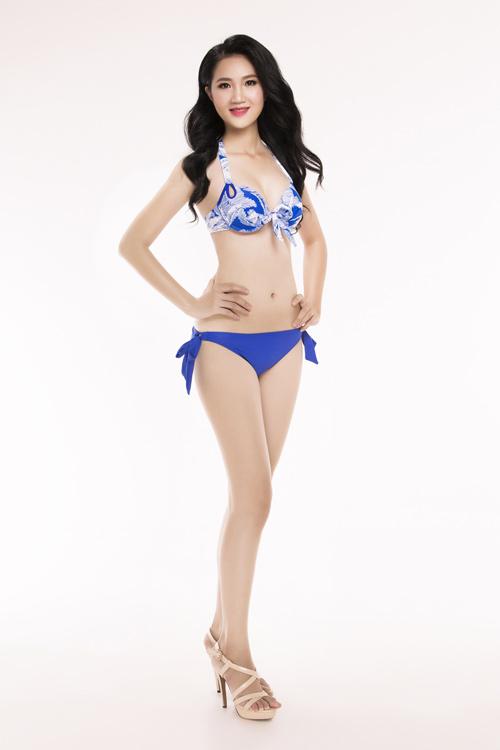 Ảnh mặc áo tắm gây chú ý của 30 thiếu nữ thi Hoa hậu VN - 6