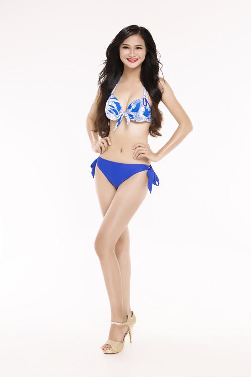 Ảnh mặc áo tắm gây chú ý của 30 thiếu nữ thi Hoa hậu VN - 8
