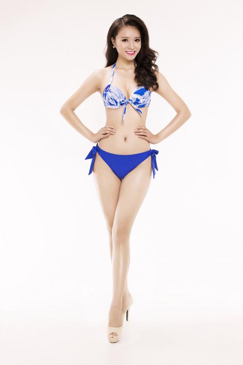 Ảnh mặc áo tắm gây chú ý của 30 thiếu nữ thi Hoa hậu VN - 9