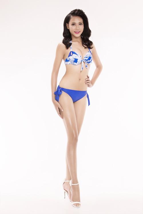 Ảnh mặc áo tắm gây chú ý của 30 thiếu nữ thi Hoa hậu VN - 10