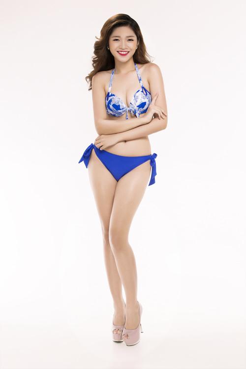 Ảnh mặc áo tắm gây chú ý của 30 thiếu nữ thi Hoa hậu VN - 12