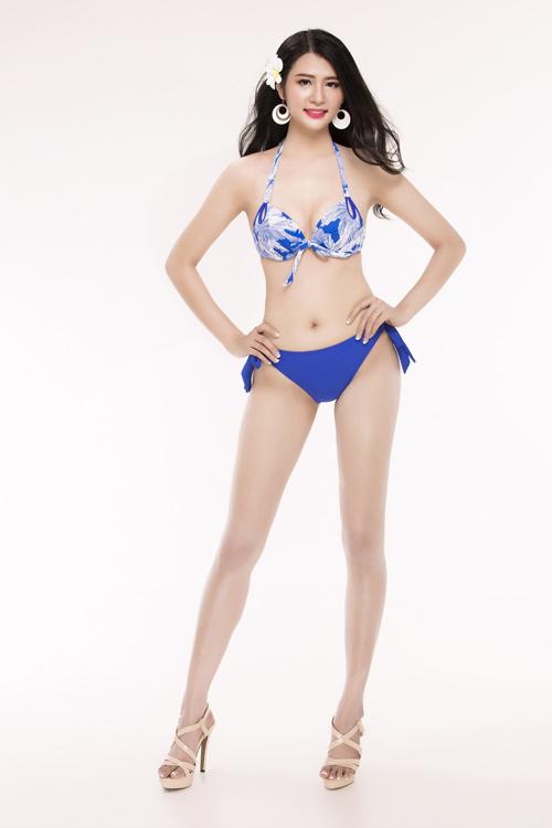 Ảnh mặc áo tắm gây chú ý của 30 thiếu nữ thi Hoa hậu VN - 13