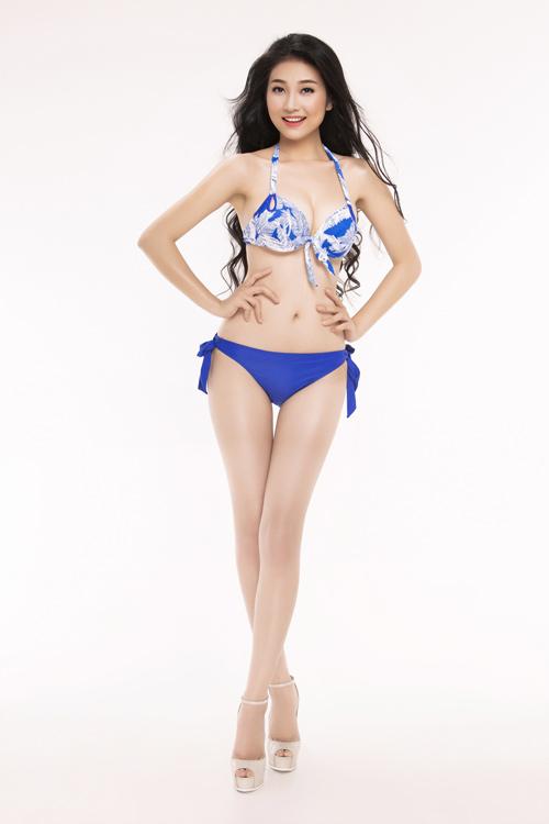 Ảnh mặc áo tắm gây chú ý của 30 thiếu nữ thi Hoa hậu VN - 14