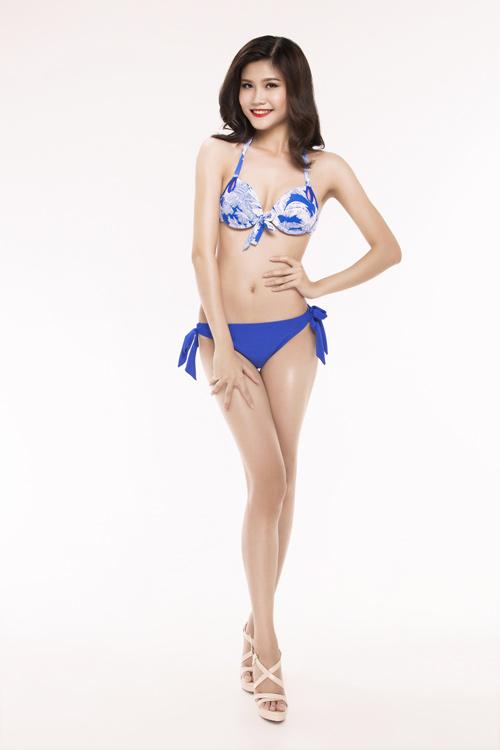 Ảnh mặc áo tắm gây chú ý của 30 thiếu nữ thi Hoa hậu VN - 16