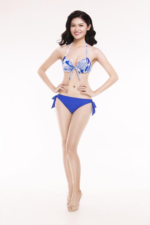 Ảnh mặc áo tắm gây chú ý của 30 thiếu nữ thi Hoa hậu VN - 17
