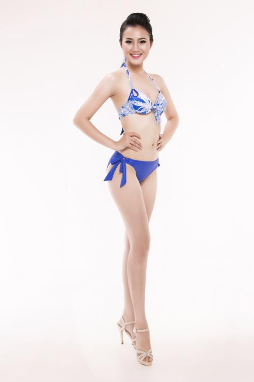 Ảnh mặc áo tắm gây chú ý của 30 thiếu nữ thi Hoa hậu VN - 25