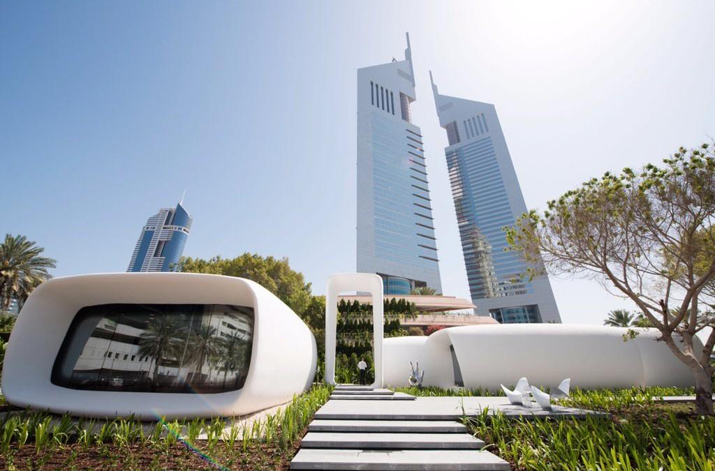 """Máy in 3D in ra cả tòa nhà """"xịn"""" ở Dubai - 2"""