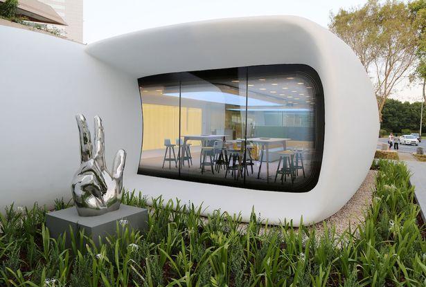 """Máy in 3D in ra cả tòa nhà """"xịn"""" ở Dubai - 3"""