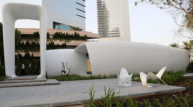 """Máy in 3D in ra cả tòa nhà """"xịn"""" ở Dubai - 4"""