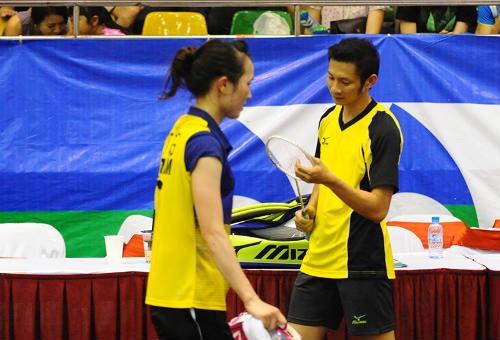 Nguyễn Tiến Minh và bạn gái - 1