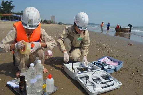 19 lần quan trắc, nước biển tại Nghệ An đều an toàn - 2