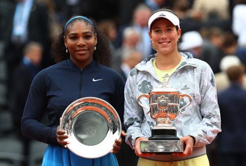 Nữ hoàng Roland Garros hẹn hạ gục Serena ở Wimbledon - 1