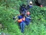 Video An ninh - Mưa lớn, Thanh Hóa tạm dừng tìm kiếm 3 phu vàng mắc kẹt