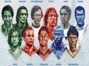 """Bóng đá - """"Dream team"""" Euro: Ronaldo sánh vai huyền thoại"""