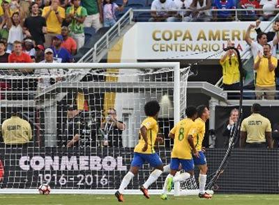 Chi tiết Brazil - Haiti: Coutinho lập hat-trick (KT) - 4