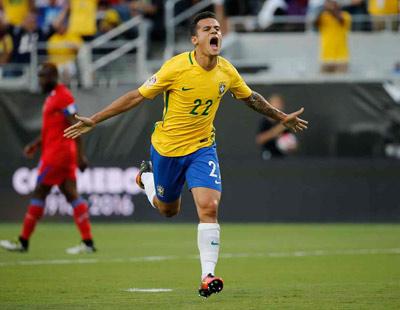 Chi tiết Brazil - Haiti: Coutinho lập hat-trick (KT) - 6