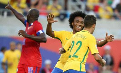 Chi tiết Brazil - Haiti: Coutinho lập hat-trick (KT) - 5