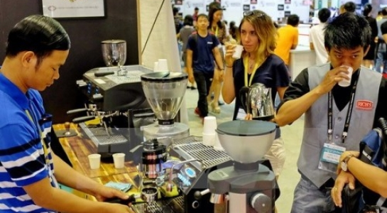 Lần đầu tiên VN tổ chức triển lãm quốc tế về cà phê và các món ngọt - 1