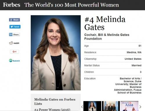 """Melinda Gates - Quyền lực """"mềm"""" của tỷ phú giàu nhất TG - 2"""