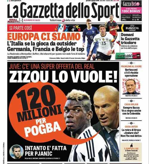 MU coi chừng, Real ra giá 120 triệu euro cho Pogba - 1