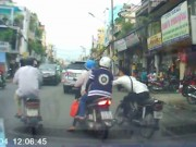 An ninh Xã hội - Bắt được tên cướp giật túi xách giữa phố Sài Gòn