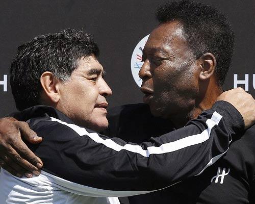 "Bất ngờ: Maradona ""nói xấu"" Messi - 1"