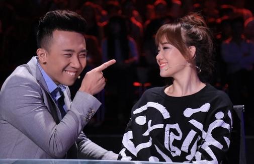 Tran Thanh va Hari Won hen ho luc dem khuya - 6