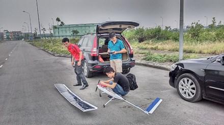 Sinh viên Bách khoa chế tạo máy bay không người lái - 1