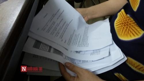"""Lộ phao thi """"ai am tít chờ"""" của giáo viên Ninh Bình - 2"""