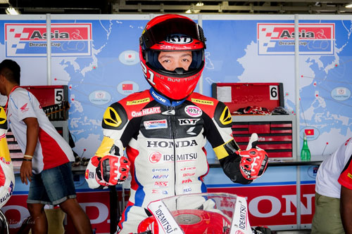 Bùi Duy Thông lên ngôi ở giải đua xe Motor Châu Á - 4